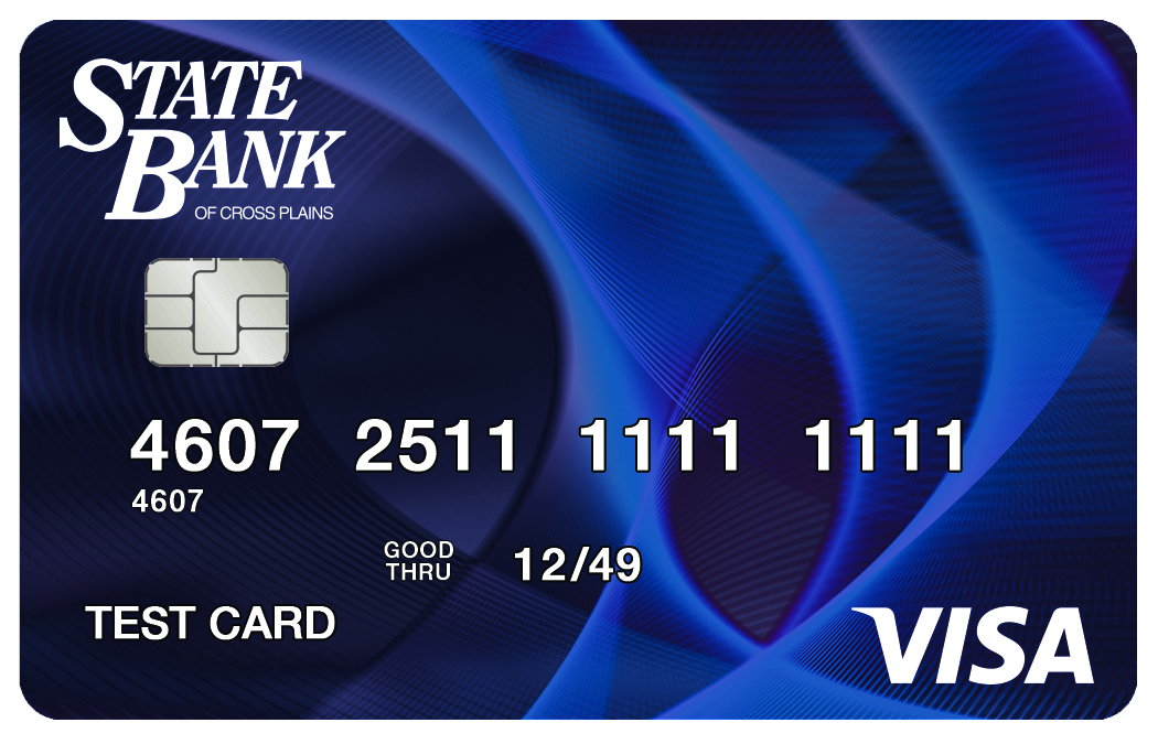 State Bank of Cross Plains Visa Classic Card